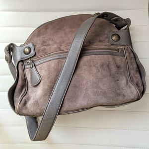 MARC JACOBS Vintage Suede leather handbag